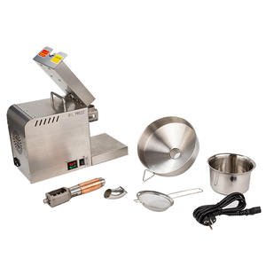 Image 3 - 1500W (Max) Rvs Food Grade Hot Koude Olie Druk Kleine Zakelijke Apparatuur Olie Druk Pinda Druk