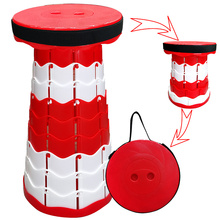 2021 New Portable Ultra-Light Camping Retractable Stool,Versatile and Easy to Carry