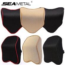 Zagłówek samochodowy poduszka na szyję uniwersalne wnętrze Auto poduszka pod szyję głowa ochraniacz szyi wsparcie poduszki zagłówek akcesoria