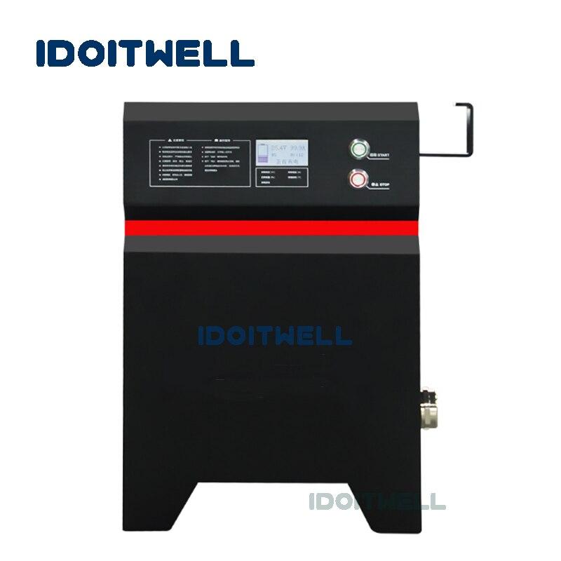 Индивидуальные профессиональные 24V 200A 36V 48V 100A 60V 84V 60A зарядное устройство машина can bus контроль PFC зарядное устройство для аккумуляторной бат