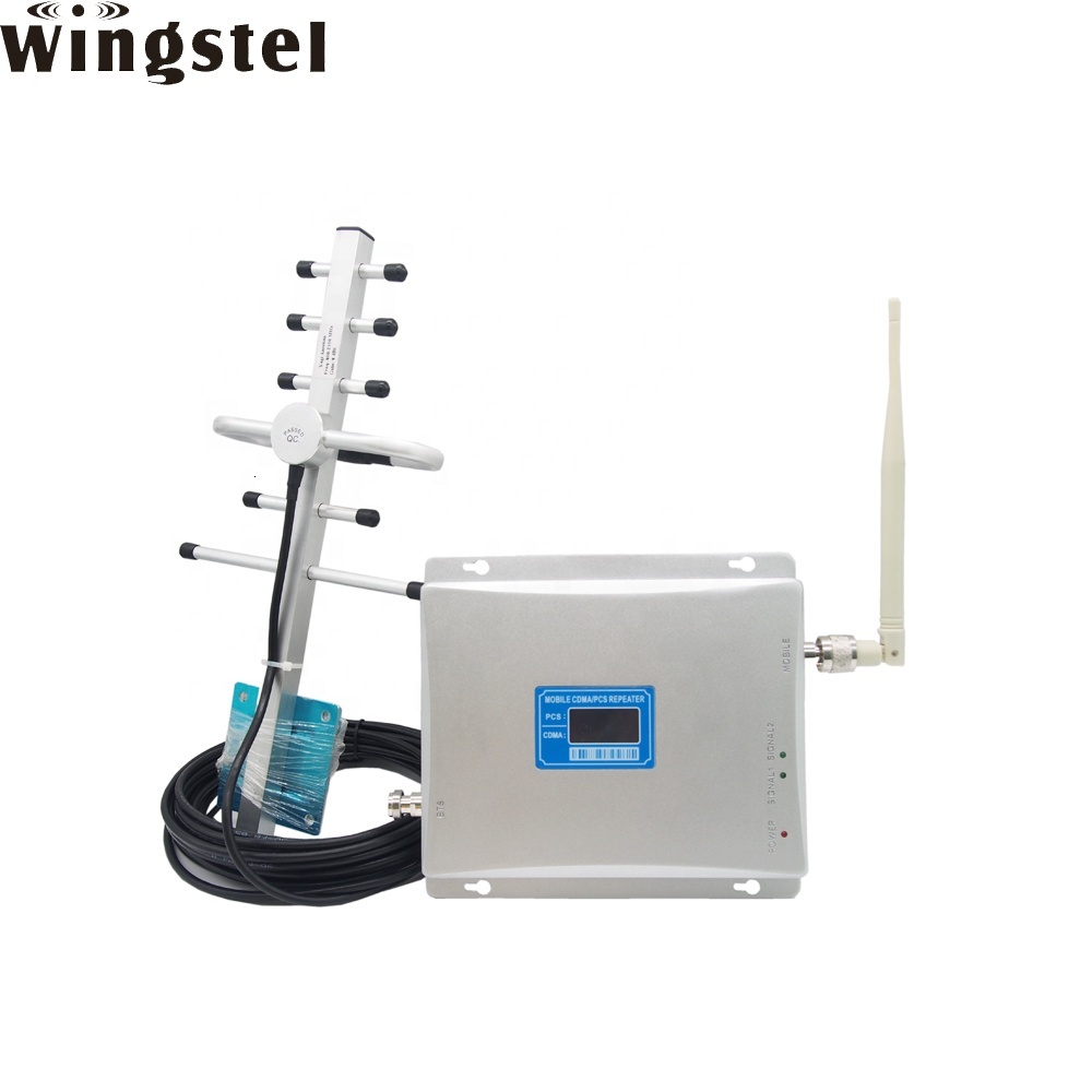Home Mobile Phone Reception 2g 3g 4g Portable Cell Phone Signal Booster Repeater With Antenna Fixed Wireless Terminal Wifi