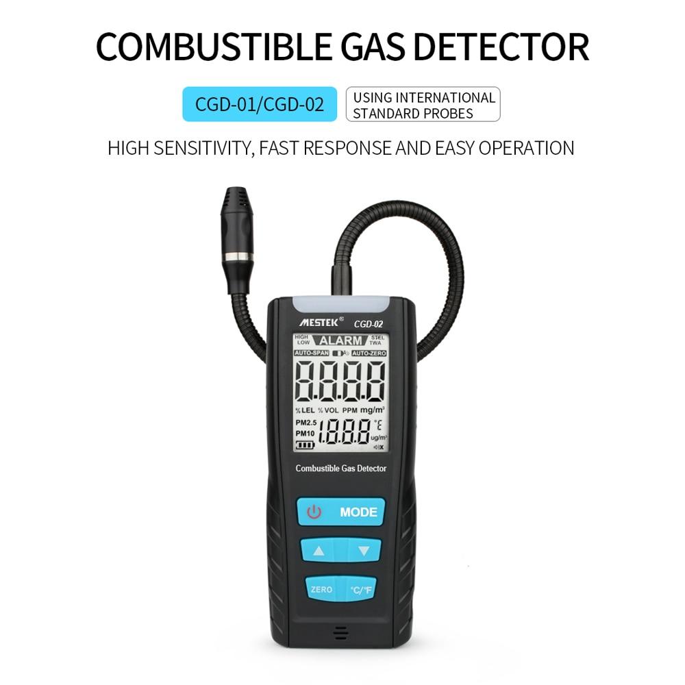 sensor de vazamento de gás combustível detector