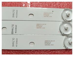 """Image 2 - New 3 PCS LED backlight strip for 43"""" TV AKAI AKTV432 AKTV401 AKTV403 AKTV4021 JS D JP4320 081EC 091EC E43F2000 D43 F2000"""