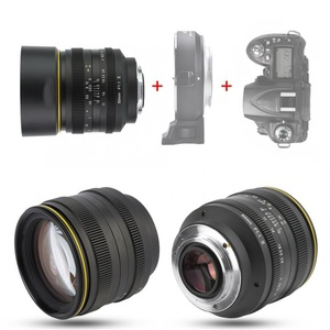 Image 5 - KamLan 50 مللي متر f1.1 II APS C عدسة كبيرة التركيز اليدوي عدسة لكاميرات عديمة المرآة عدسة الكاميرا لكانون سوني فوجي