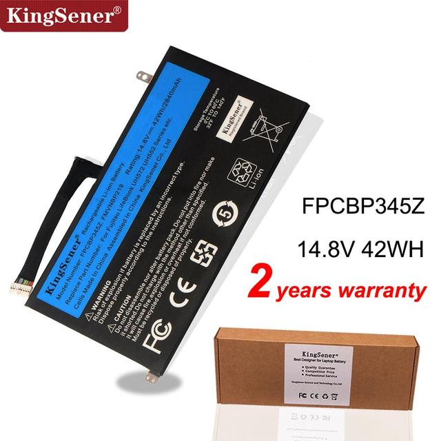KingSener חדש FPCBP345Z מחשב נייד סוללה עבור Fujitsu LifeBook UH572 UH552 Ultrabook FMVNBP219 FPB0280 FPCBP345Z 14.8V 2840mAh