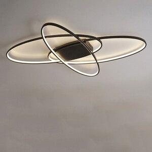 Image 5 - LICAN lustre Lustres Iluminação Para sala de estar Casa Dezembro plafonnier Avize Luminarine iluminação Lustre de Teto luz Branca