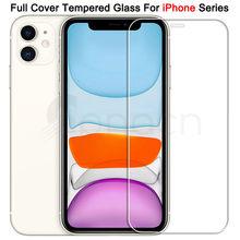 9h vidro protetor temperado para iphone 11 12 pro xr x xs max filme protetor de tela no iphone 7 6 8 6s mais 5 5S se 2020 vidro