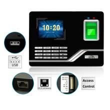 System frekwencji linii papilarnych TCPIP USB hasło kontrola dostępu zegar biurowy pracownik rejestrator urządzenie biometryczne