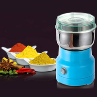 Electric Food Blender Grain Grinder Small Portable Blender Medicinal Herbs Powder Mixer Dry Grinding Professional Kitchen Tools
