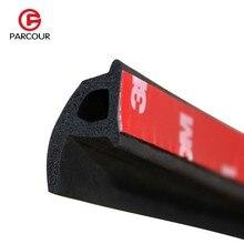 4M P Type 3M Sticky Tape Car Sound Insulation Sealing Rubber Strip Car Door Collision Avoidance Seal Dustproof Weatherstrip