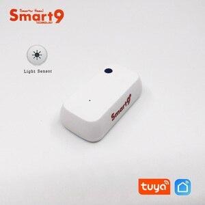 Image 2 - Smart9 Licht Sensor Werken Met Slimme Leven App, Verlichting Sensor Aangedreven Door Tuya