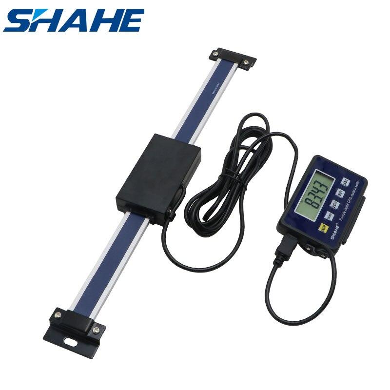 Shahe 0-150 мм/0-200 мм/0-300 мм 0,01 мм DRO Магнитный дистанционный цифровой индикатор цифровые линейные весы внешний дисплей