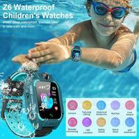 Smart Uhr IP67 Tief Wasserdicht 2G GPS Tracker SOS Anruf Lokalisierung Erinnerung Für Kinder Kinder Für Android 4.4 IOS 9 Oder oben-in Smart Watches aus Verbraucherelektronik bei