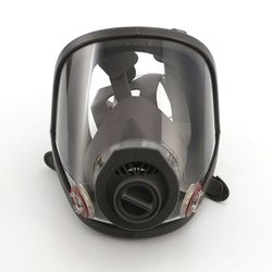 Full Face Respirator Set Penutup Wajah Pertahanan Semprot Lukisan Besar Masker untuk Kimia Penyemprotan
