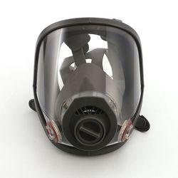 Juego de respirador facial completo, pintura en aerosol de defensa, máscara de protección grande para pulverización química