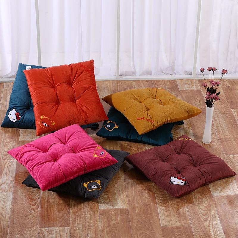 Coaster sala de aula verão almofada do assento coaster coaster coxim cadeira de escritório almofada de assento de engrossamento