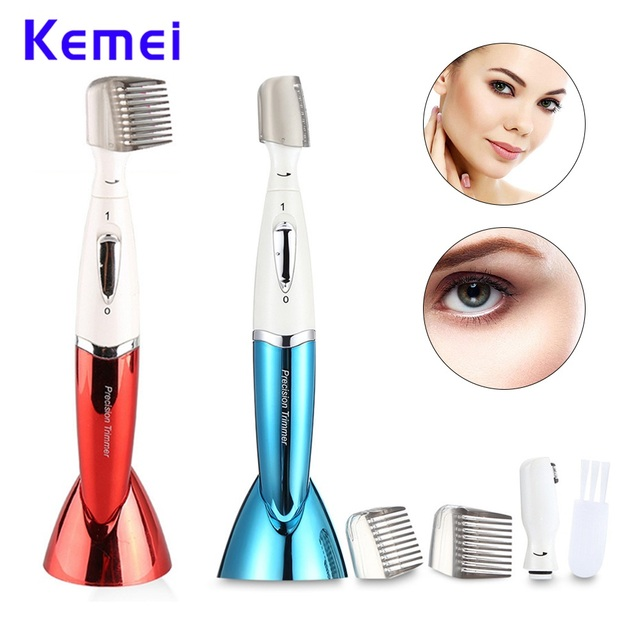 Kemei Manual Shaver Professional Straight Edge Stainless Steel Sharp Razor Shaving Beard Cutter Pen Epil Hold Ereyebrow Razor