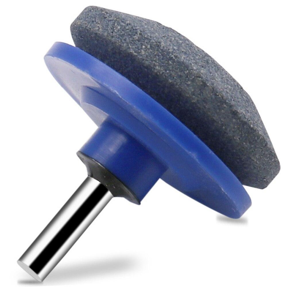 Electric Lawn Mower Sharpening Stone Electric Wind Power Mower Sharpener Wear-resistant Grinding Head Whetstone Sander