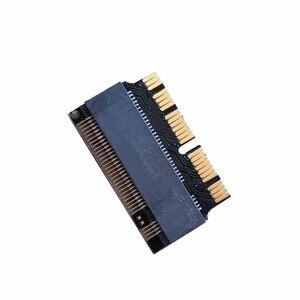 L добавить на карты PCIE в M2 адаптер M.2 SSD PCIE адаптер SSD M2 адаптер M.2 NGFF AHCI 2280 SSD 12 + 16 Pin для Macbook Air 2013