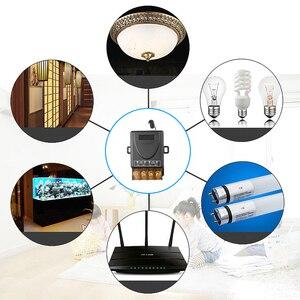 Image 5 - Kebidu AC 110V 240V 30A röle kablosuz RF akıllı uzaktan kumanda anahtarı verici + alıcı 433MHz akıllı ev uzaktan
