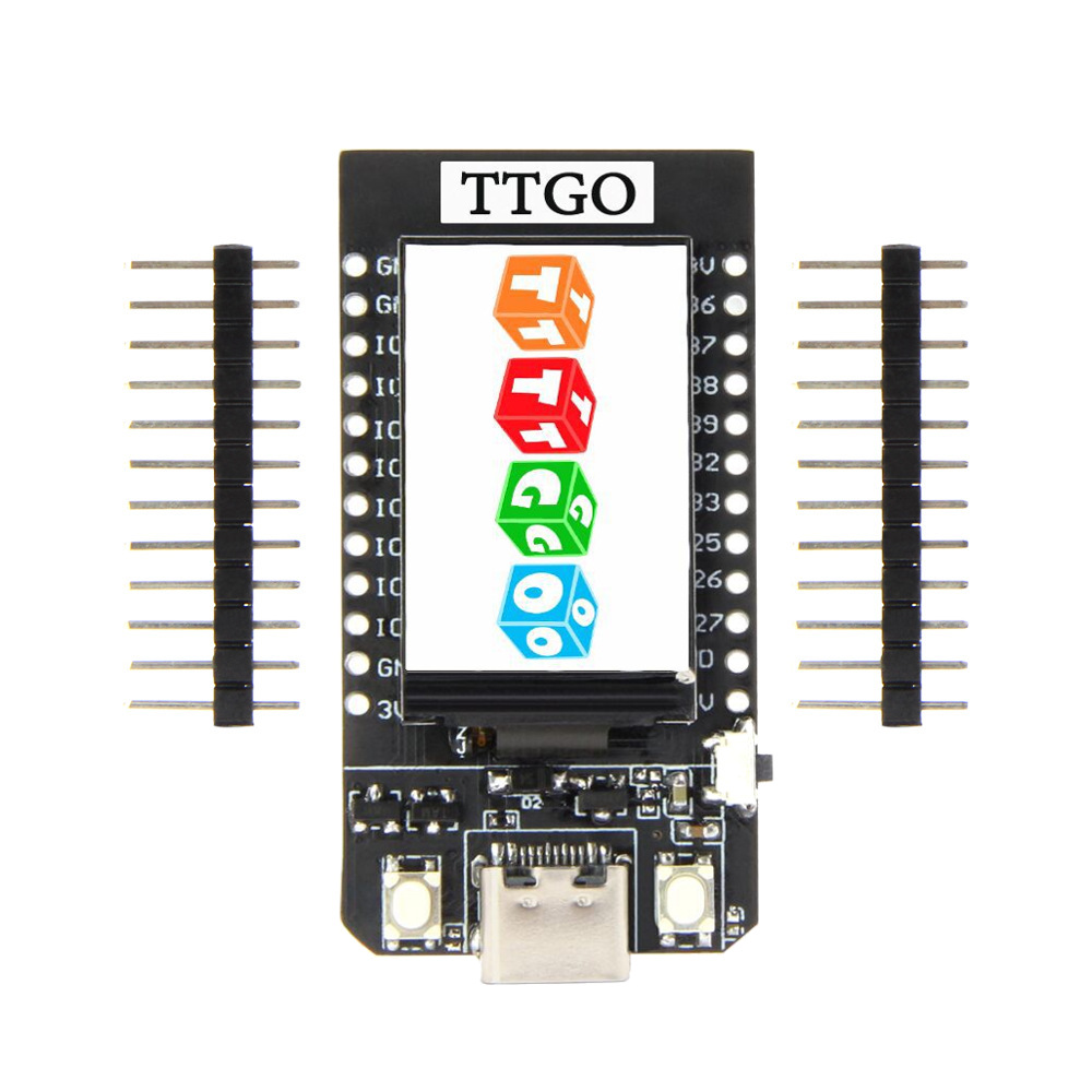 LEORY TTGO T-Display ESP32 CP2104 WiFi Bluetooth Module 1.14 Inch LCD Development Board For Arduino