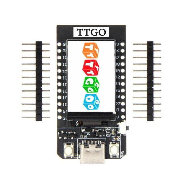 LEORY TTGO T Display ESP32 CP2104 WiFi bluetooth Module 1.14 Inch LCD Development Board For Arduino
