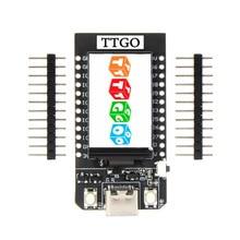 LEORY TTGO T 디스플레이 ESP32 CP2104 WiFi 블루투스 모듈 Arduino 용 1.14 인치 LCD 개발 보드
