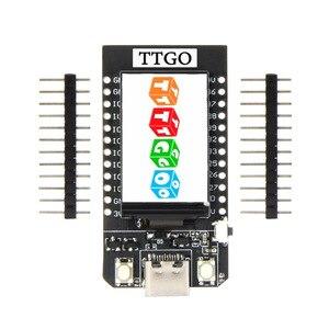 Image 1 - LEORY TTGO t display ESP32 CP2104 WiFi Module bluetooth 1.14 pouces LCD carte de développement pour Arduino