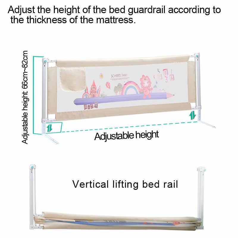 תינוק מיטת גדר בית ילדים לול בטיחות שער מוצרי ילד טיפול מחסום עבור מיטות עריסה מסילות אבטחת גידור ילדי מעקה בטיחות