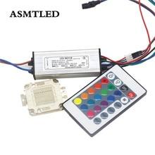 LED Perle AC110-245V 10W 20W 30W 50W 100W High Power Led-treiber Versorgung + SMD RGB Chip für Flutlicht Adapter Beleuchtung Transformator
