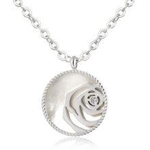 бижутерия 2020 на шею колье Модная подвеска в форме цветка розы