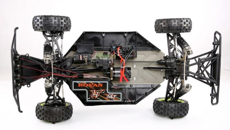 Electric Upgrade Conversion Kit Without Motor And ESC Fit For 1/5 Losi 5ive T Rovan ROFUN LT SLT LOSI TRUCK KingmotorX2