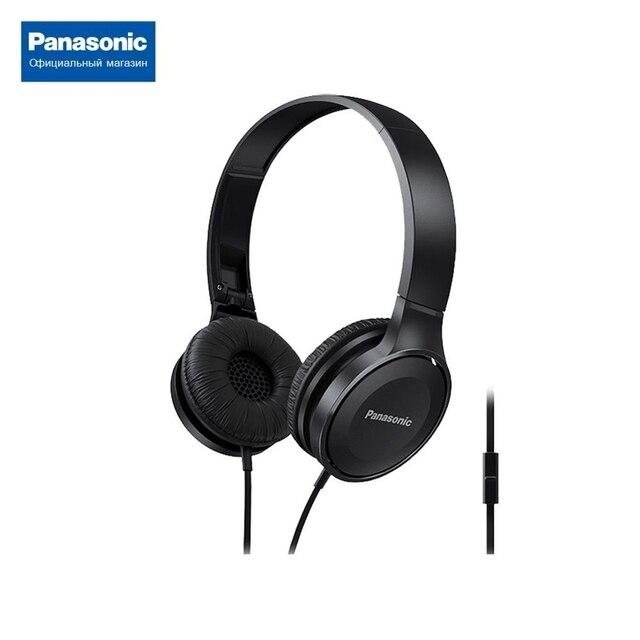 Накладные стерео наушники с микрофоном Panasonic RP-HF100MGCK