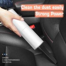 רכב כוח יניקה שואב אבק 120W נייד יבש אבק כף יד מנקה עם Hepa מסנן ואבזרים