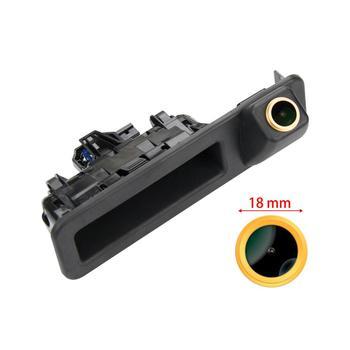 Freezzmi Golden HD Rear View Reverse Camera Handle for BMW X1 F48 F49 X3 G08 3er F34 G20 G28 5er G30 G38 2018-2020 MINI F55 F54