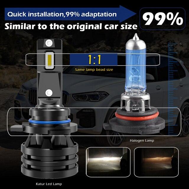 M2 Car Lights H7 16000LM H11 LED Lamp Car Headlight Bulbs H4 H1 H3 H8 H9 9005 9006 HB3 HB4 9012 H13 9007 Turbo LED Bulbs 12V 24V 2