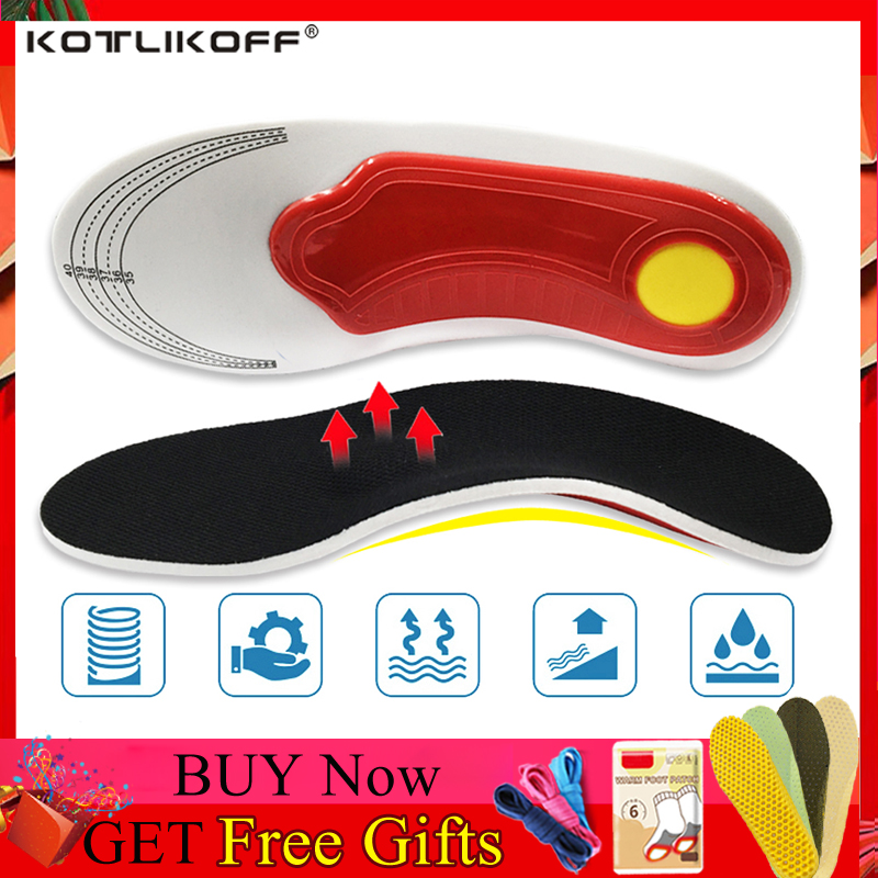 Orthotic Insole Arch Support Flat Feet Shoe Pads Inserts Orthopedic Insoles For Shoes Foot Care OX Leg Plantar Fasciitis Unisex