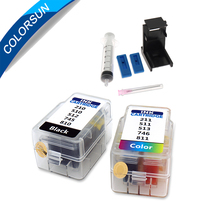 Colorsun refill kit for canon pg-445 445 446 XL ink cartridge for canon IP2700 2702 2770 2780 E408 E468 MG2400 MG2510 printer colorsun refill cartridge for canon pg 510 cl 511 cartridge 445 446 810 811 512 513 145 146 245 246 745 746 545 xl ink cartridge