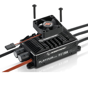 Image 2 - Hobbywing Platinum HV 130A SBEC V4 BEC & 130A OPTO V4 without BEC Empty mold Brushless ESC for RC Drone Helicopter Aircraft