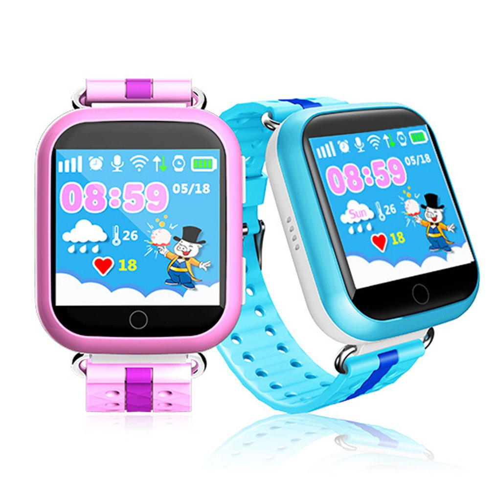 Q750 Smart Child Watch Touch Screen GPS Tracker SOS For Help Anti Lost Monitor Phone Call Wristwatch For Children Kids GIFTS