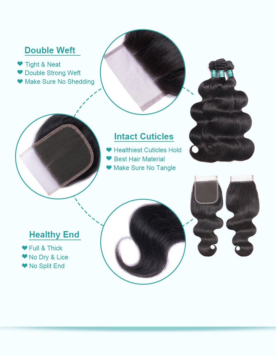 body wave bundles with closure-3+4_07
