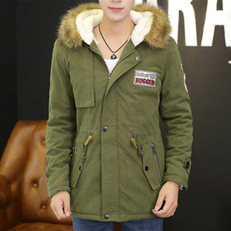 ZOGAA New Autumn Winter Coat Thick Warm Jacket Mens And Women Cotton Hooded Korean Plus Velvet Couple Parkas