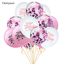 Bride-Balloons Party-Decorations Team Wedding-Party Night-Bachelorette Confetti To Be
