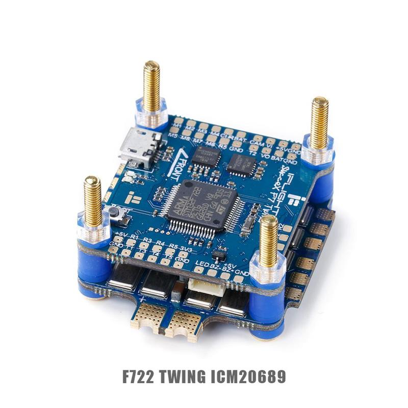 IFlight SucceX F7 V2.1 TwinG FC met SucceX 60A V2 Plus BLHeli 32 DShot1200 4 in 1 ESC FPV flytower Systeem Stack voor FPV Drone