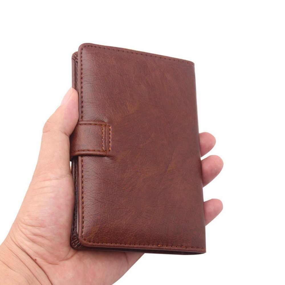1 stück Pu Leder Neue Passport Abdeckung Männer Reise Brieftasche Kreditkarte Halter Abdeckung Russischen Fahrer Lizenz Brieftasche Dokument Fall