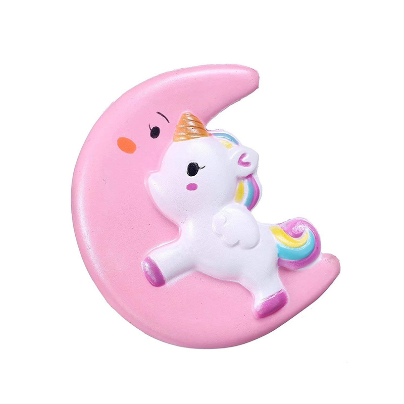 Jumbo Kawaii Moon Unicorn Squishy Slow Rising Squeeze Toys Scented Soft Healing Antistress Stress Relief Toy