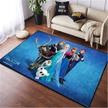 Cartoon Frozen Anna Elsa Door Mat Kids Boys Girls Game Mat Mickey and Minnie Mouse Bedroom Kitchen Carpet Indoor Bathroom Mat