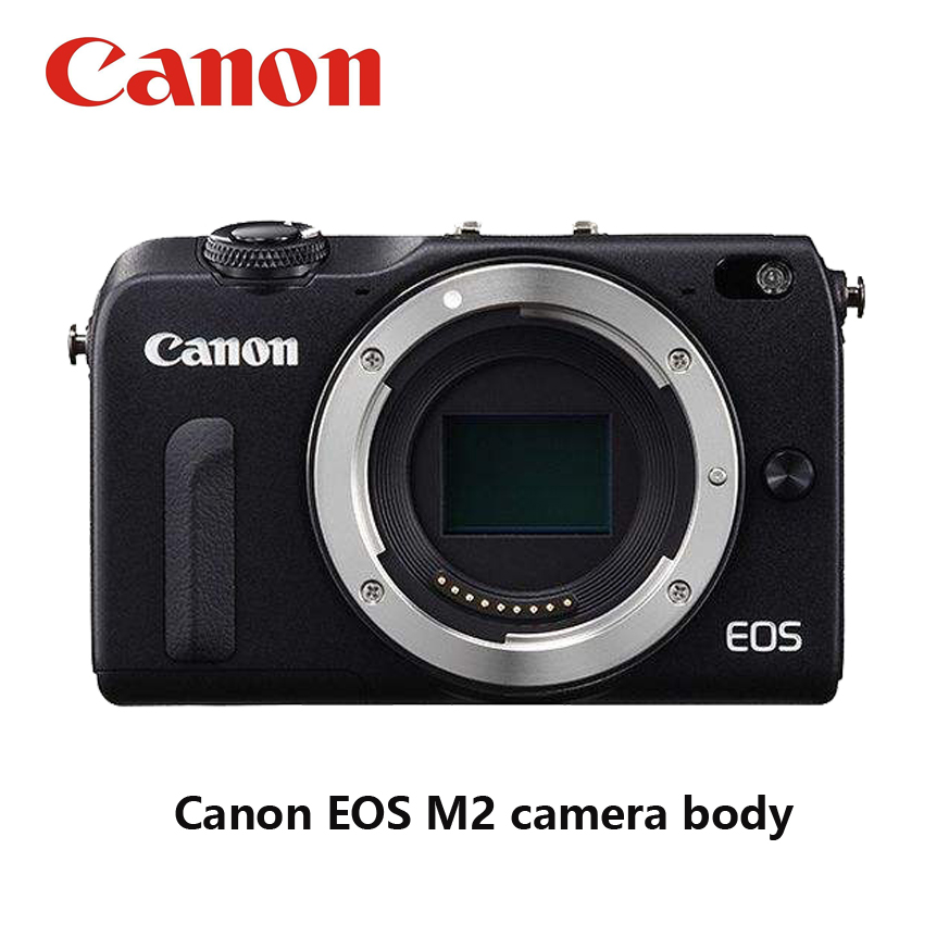 Used  Canon Compact Digital EOS M2 Camera Without Lens And Flash 18MP WIFI 8GB Memory Card Fully Tested