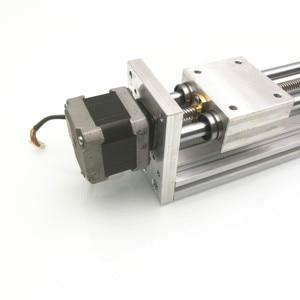 Image 4 - 170Mm Trục Z Trượt Du Lịch CNC ROUTER Chuyển Động Thẳng Bộ Cho Reprap 3D Máy In CNC Không/Có Động Cơ (Thứ Hai Tay NEMA17stepper)