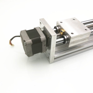 Image 4 - 170mm ציר Z שקופיות נסיעות CNC נתב לינארי תנועה ערכת Reprap 3D מדפסת CNC לא/עם מנוע (יד שנייה NEMA17stepper)